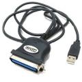 Переходник STLab U-191, USB to LPT25F, Ret