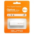 Флеш диск 16Gb Qumo Optiva 01 White (QM16GUD-OP1-white)