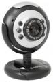 Веб-камера Defender C-110 0.3 МП, подсветка, кнопка фото (63110)