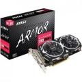 Видеокарта MSI 8Gb RX 570 256bit DDR5 1268MHz/7000MHz DVI HDMI 3*DP (RX 570 ARMOR 8G OC) RTL