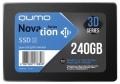 Жесткий диск SSD 240Gb QUMO Novation TLC 3D 560/540 SATA3 (Q3DT-240GAEN) OEM