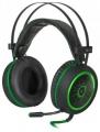 Гарнитура Defender G-530D черный+зеленый, кабель 2,2 м (64146)