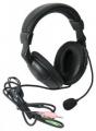 Гарнитура Defender Orpheus HN-898 черный, кабель 3м (63898)