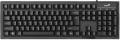Клавиатура Genius Smart KB-102 black USB, клавиатура с увеличенным ходом 6мм