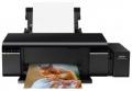 Принтер струйный A4 Epson L805 (C11CE86403) 6-цветный струйный СНПЧ A4, 37 (38 цв) стр/мин, 5760x1440 dpi, подача: 120 лист., вывод: 50 лист., USB, Wi-Fi, печать фотографий, печать на CD/DVD