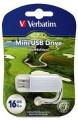 Флеш диск 16Gb Verbatim Mini Sport Edition Гольф (98682)