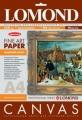 Холст натуральный льняной Lomond для струйной печати А4, 10л. 320г 0908421