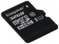 Карта памяти microSDHC 32Gb Kingston Class 10 (SDCS/32GBSP)