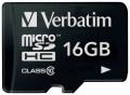 Карта памяти microSDHC 16GB Verbatim Class 10 (44010)