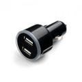 Адаптер питания автомобильный Cablexpert MP3A-UC-CAR16, 12V->5V 2-USB, 2.1A
