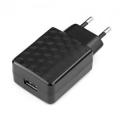 Адаптер питания сетевой Gembird MP3A-PC-04 100/220V - 5V USB 1 порт, 1A, черный