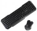 Комплект клавиатура + мышь Crown CMMK-953W black USB, nano ресивер
