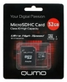 Карта памяти microSDHC 32Gb Qumo Сlass 10 UHS-I ,3.0 + SD