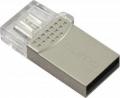 Флеш диск 64GB Qumo Keeper USB/MicroUSB (QM64GUD-Keep)