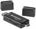 Карт-ридер внешний Defender Multi Stick USB2.0 TYPE A/B/C - SD/TF (83206)