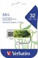 Флеш диск 32Gb Verbatim Mini Elements Edition Earth (49411)