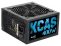 Блок питания AeroCool KCAS-400W 400W, ATX 2.3, Active PFC, 120mm fan, 80 PLUS BRONZE