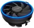 Вентилятор Crown CM-1151PWM BLUE AM4 Ready, 115X, 775, TDP до 115 Ватт, 4pin PWM, синяя подсветка