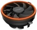 Вентилятор Crown CM-1153PWM ORANGE AM4 Ready, 115X, 775, TDP до 115 Ватт, 4pin PWM, оранжевая подсветка