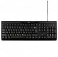 Клавиатура Gembird KB-8335U-BL black USB 104кл.