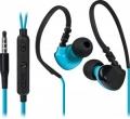Гарнитура Defender OutFit W770 черный+голубой, вставки, для смартфонов(63771)
