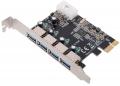 Контроллер Pci-e 1x на 4 USB 3.0 VIA VL800