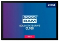 Жесткий диск SSD 240Gb GoodRAM CL100 SATA3 520/400 TLC (SSDPR-CL100-240-G2) RTL