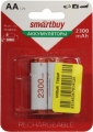 Аккумулятор AA Smartbuy R06 (AA) 2300mAh (2шт) (SBBR-2A02BL2300)