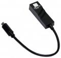 Сетевая карта 5bites UA3C-45-07BK USB3.1 Type-C 10/100/1000 Мбит/с, портативная