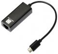 Сетевая карта 5bites UA3C-45-08BK USB3.1 Type-C 10/100 Мбит/с, портативная