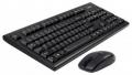 Комплект клавиатура + мышь A4 3100N USB/Wireless /Black 2.4G X-Far