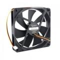 Вентилятор для корпуса Gembird D14025HM-3, 140x140x25, гидродинамический, 3 pin, провод 40 см