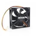 Вентилятор для корпуса Gembird D8025HM-3 80x80x25, гидродинамический, 3 pin, провод 30 см