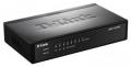 Коммутатор D-Link DES-1008P/C1A неуправляемый 8x10/100Mbps + PoE (4 порта с поддержкой PoE 802.3af)