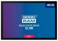 Жесткий диск SSD 480Gb GoodRAM CL100 SATA3 550/450 TLC (SSDPR-CL100-480-G2) RTL