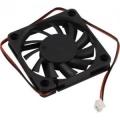 Вентилятор для корпуса 5bites F6010S-2 60x60x10мм, подшипник скольжения, 3500RPM, 26dBa, 2 pin