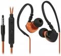 Гарнитура Defender OutFit W770 черный+оранжевый, вставки, для смартфонов (63772)
