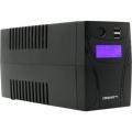Источник бесперебойного питания Ippon Back Power Pro II 700 700ВА черный