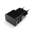 Адаптер питания сетевой Gembird MP3A-PC-12 100/220V - 5V USB 2 порта, 2.1A, черный