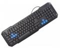 Клавиатура Crown CMK-314 black USB 10 мультимедийных клавиш
