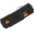 Клавиатура Crown CMK-483 black USB 114 клавиш (10 - hotkeys), выделенные клавиши Warzone