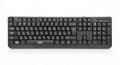 Клавиатура CBR KB 103 black USB 12 доп. мультимедия функций, переключение языка 1 кнопкой