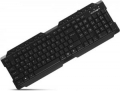 Клавиатура Crown CMK-158T black USB 16 мультимедийных клавиш