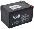 Батарея аккумуляторная 3Cott 12V/12Ah