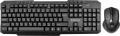 Комплект клавиатура + мышь Defender Jakarta C-805 RU black беспроводной (45805)