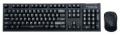 Комплект клавиатура + мышь Zalman ZM-KM870RF Combo black USB беспроводной