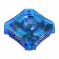 Разветвитель  4*USB2.0 CBR CH-127 Blue