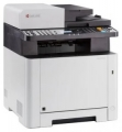 МФУ лазерное A4 Kyocera ECOSYS M5521cdn (цвет, c/pr/sc/fax, A4, 21p, Net, DU, ADF, тонер)