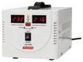 Стабилизатор напряжения Powerman AVS-1000D White напольного/настольного исполнения с цифровой индикацией