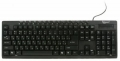 Клавиатура Gembird KB-8300UM-BL-R black USB 15 кл. мультимедиа